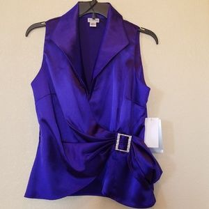 Metaphor 💜 NWT Purple blouse (S)